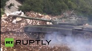 Syria: Exclusive footage of Syrian Army offensive in Latakia *GRAPHIC*