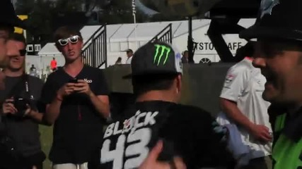 Ken Block defends last year's hooning title at 2011