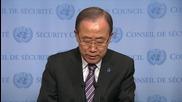 Бан Ки-мун осъжда изстрелването на ракета от страна на Северна Корея