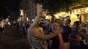 France: Drag queens put on a show from their window in Paris
