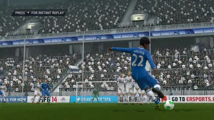 Fifa 14 - Willian Free Kick