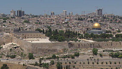 East Jerusalem: Call to prayers echoes at Al-Aqsa Mosque one day after Eid al-Fitr celebrations