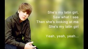 Justin Bieber - Latin Girl (hd) [lyrics] Full Song = D