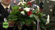 Germany: Red Army-US link-up commemorated at Elbe River