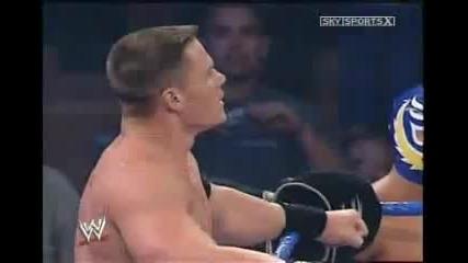 Wwe 2004 Rvd, Rey Mysterio & John Cena Vs Kenzo Suzuki, Ren Dupree & Booker T