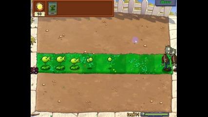Plants vs Zombies Епизод 1 Ниво 1