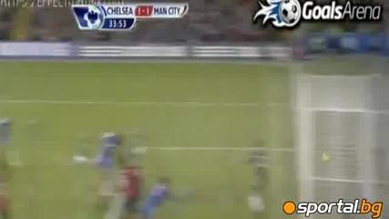 Челси нанесе първа загуба на Манчестър Сити 2:1 след обрат