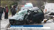 Мъж загина при сблъсък на кола и джип - Новините на Нова