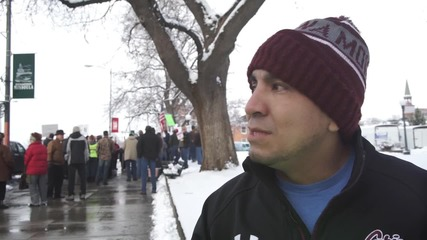 USA: Dozens protest refugees following city's proposal to accept 100 per year