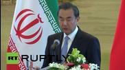 China: Beijing, Tehran aim to boost bilateral ties in post-sanctions era