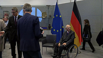 Germany: Bundestag President Schaeuble greets Egypt's el-Sisi in Berlin