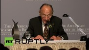 Germany: Genscher receives Kissinger Prize, calls Nazis 'NATO' by mistake