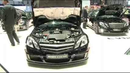 Световна премиера Brabus E V12 Coup Женева Мотор 2010