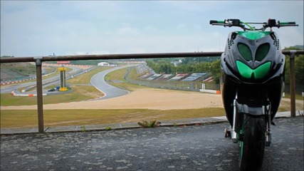 Black - Green Sportrox _ from street to race # - from Youtube by Offliberty