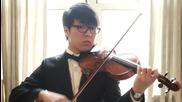 Прекрасно Изпълнение на Цигулка от Jun Curry Ahn на