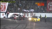 Robbie Nishida vs Conrad Grunewald @ Formula Drift Round 7 During Top 16