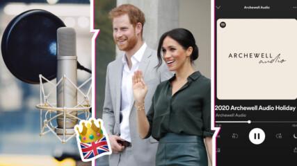 Елтън Джон и малкият Арчи - първите гости в подкаста на принц Хари и Мегън Маркъл! Какво си казаха?
