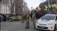 Ukraine: Activists march to mark 2-year anniversary of Maidan unrest
