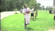 изумителни баскетболни умения!