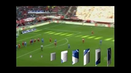 Твенте победи с 3:0 АЗ Алкмаар