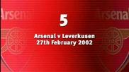Dennis Bergkamp Top 10 Goals