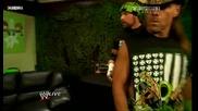 [bg Subs]wwe Raw 04.01.2010 - Hornswoggle имитира Cena, Taker и Orton