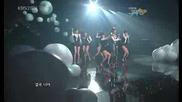Wax - Kyeolguk Neoya [kbs Music Bank 090703]