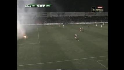 """Скучно 0:0 между """"Литекс"""" и ЦСКА"""