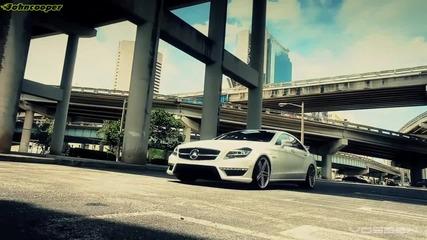 Очаквано добра комбинация - Mercedes Cls63 Amg с джанти Vossen