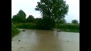 Последици от проливния дъжд в с. Салманово 1