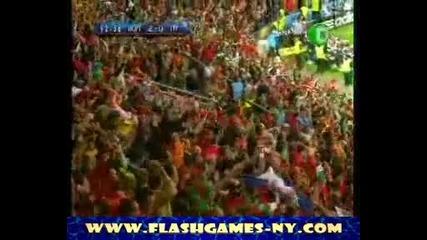 Eкскузивно!!!Страхотен ГОЛ отбелязаха ПОРТУГАЛИЯ на ТУРЦИЯ за 2:0 ЕВРО 2008 HQ