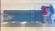 Човешко колело на летище