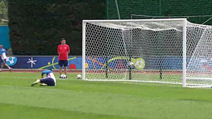 France: Russian team train ahead of Euro 2016 showdown against England
