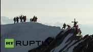 Швейцария: Андреас Стеиндл претича през пет 4000 метрови Алпински върха за рекордно време