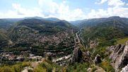 Панорамен изглед от Лакатнишките скали ( Lg G5 Wide Angle 4k Video )