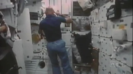 Живота на космонавтите по време на мисиите през 80'