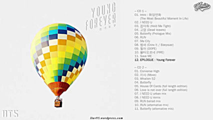 [full Album] Bts - The Most Beautiful Moment in Life Young Forever [special Album]