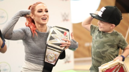 Becky Lynch joins Dubai Fitness Challenge – WWE AL An