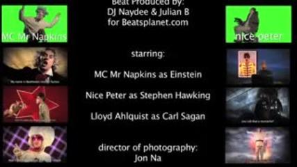 Einstein vs Stephen Hawking -epic Rap Battles of History #5