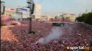 Над 100 000 празнуваха заедно гола налевандовски