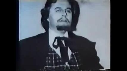 2 Boris Christoff My Opera Debut As Colline.avi