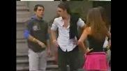 Roberta, Mia, Diego y Miguel