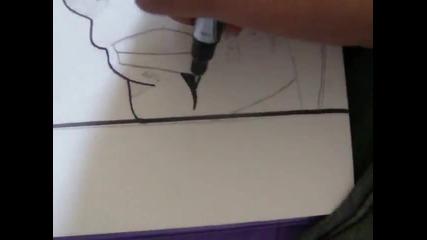 how to draw Madara Uchiha and the 1st hokage { Виж Инфо}