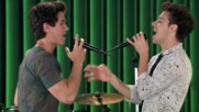 Soy Luna 2 - Матео и Симон репетират на песента - Nobody But You - епизод 57 + Превод