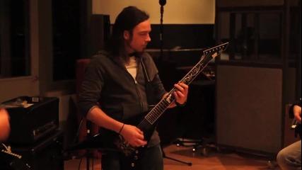 Bullet For My Valentine в студиото (солата от Тemper Temper)