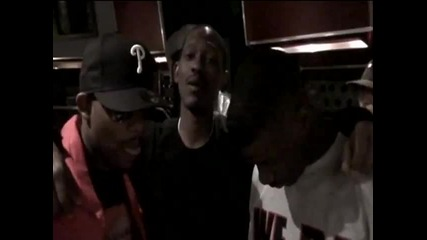 Kurupt & Jay Rock & Kendrick Lamar & Bad Lucc & Lady G In the studio