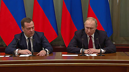 Russia: PM Medvedev announces resignation of government