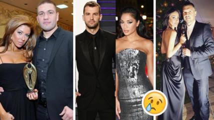 Най-скандалните раздели на БГ звездите през 2019 г.! Ето кои BG знаменитости останаха сами