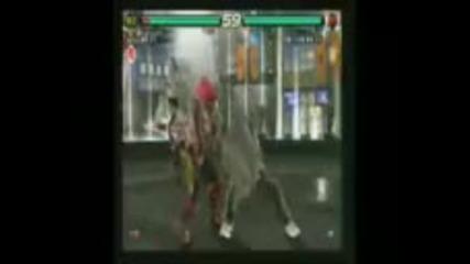 Tekken 6 - Yoshimitsu vs Raven