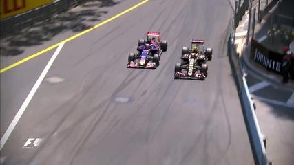 Топ 10 Изпреварвания във Формула 1 през 2015 г
